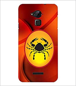 PrintDhaba Zodiac Cancer D-3370 Back Case Cover for COOLPAD NOTE 3 LITE (Multi-Coloured)