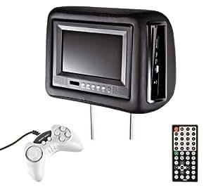 Innovate INVM3250 Appuie-tête avec écran et lecteur 7'' Noir