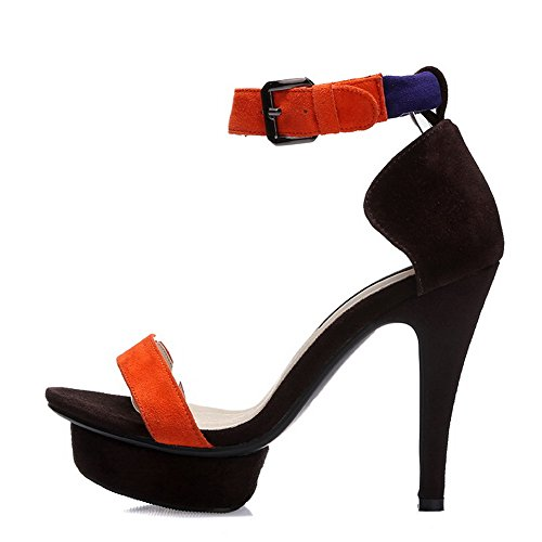 BalaMasa , Sandales pour femme Orange