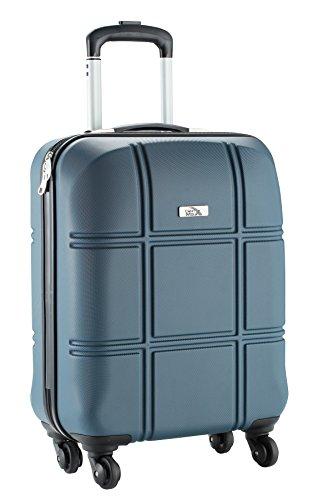 cabin-max-turin-tamano-de-la-cabina-equipaje-de-mano-abs-55-x-40-x-20-cm-oscuro-granito