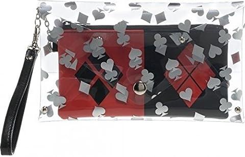 Umschlag Wallet–DC Comics–Harley Quinn klar W/Wristlet Bag New Toys gw2N4sdco