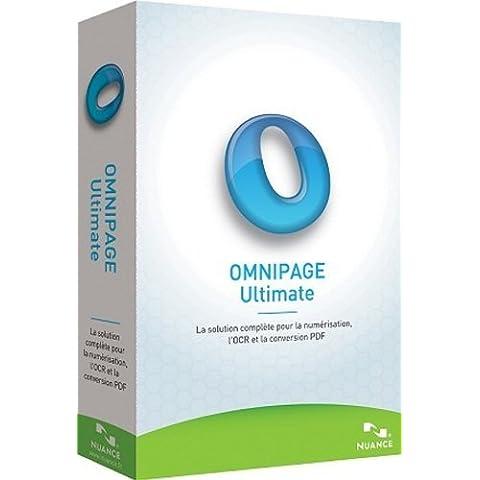 Nuance OmniPage Ultimate - Sistemas OCR (Intel Pentium 1GHz, Win, ENG, Microsoft Windows 8 32/64-bit, Windows 7 32/64-bit, Windows XP 32-bit (SP3), Windows Server 2008 R2,, Microsoft Internet Explorer 8, XGA,