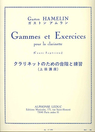 Gaston Hamelin: Scales and Exercises (Clarinet) par C. (Compose Hamelin