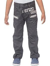garçons bébés JUNIORS ENZO Jeans joggeur finition élastique pantalon