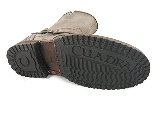 Cuadra Crocodile Leather Cowboy Boots for Men Higgs Asfalto