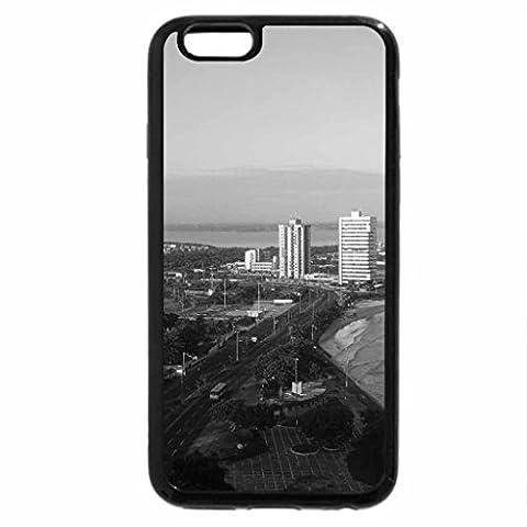 iPhone 6S Plus Case, iPhone 6 Plus Case (Black & White) - Maranhao Brazil.
