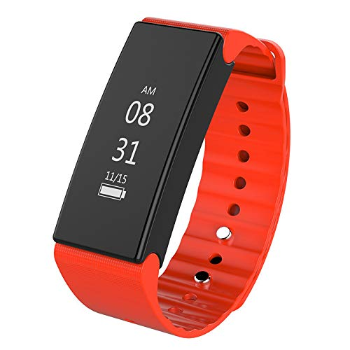 Yallylunn T2 New Heart Rate Monitor Waterproof Bluetooth Wrist Smart Sport Watch WiderstandsfäHigkeit Klassik Quick Release Uhrenarmband Confortable and Flexible
