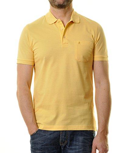 """RAGMAN Herren Poloshirt """"Pima de Lima"""" Gelb-515"""