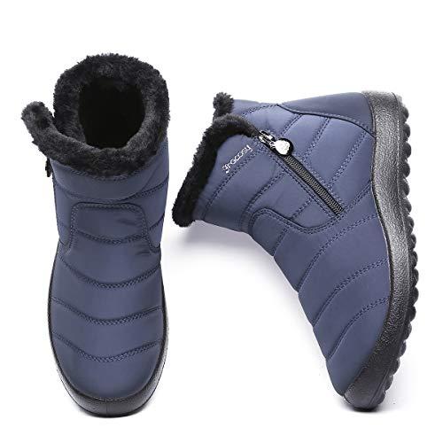 Ville Neige Bottes Filles Hiver Femmes De Gracosy Chaussures 76gFxqSPw