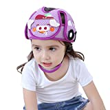 Casco de seguridad para bebés,yunt casco ajustable anti-colisión para niños Casco protector de bebés para niños con protección infantil