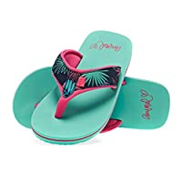 Animal Girls Flip Flops -Swish Upper AOP