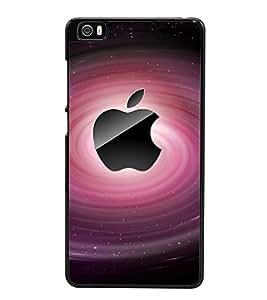 Fuson Premium 2D Back Case Cover Pink Apple With Multi Background Degined For Xiaomi Redmi Mi5::Xiaomi Mi 5