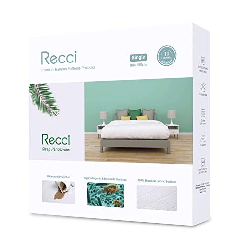 RECCI Premium Bamboo Mattress Protector 2