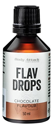Body Attack Flav Drops, Chocolate, 1er Pack (1 x 50 ml)
