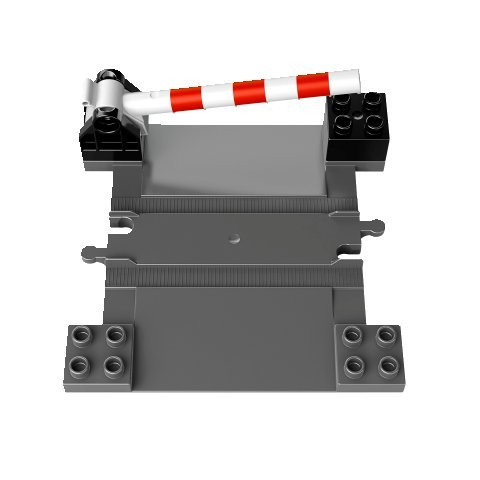 LEGO DUPLO - Eisenbahn Zubehör Set Bahnübergang aus Set 10506 (Lego Bahnübergang)