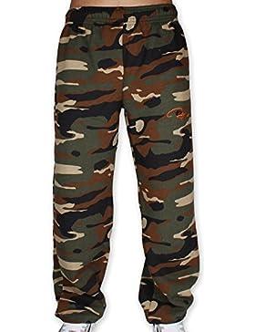 REDRUM Plain Sweatpants Jogger Pants Jogginghose aus Baumwolle - Sporthose, Trainingshose, Fitnesshose oder bequeme...
