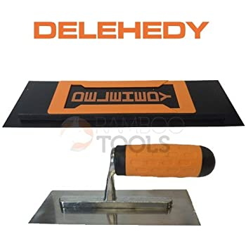 "Delehedy 28/"" foam backed plastic blade with Trowel"