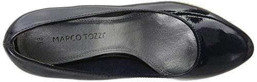 Marco Tozzi 22440, Scarpe con Piattaforma Donna Blu (Navy 805)