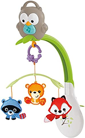 Fisher-Price Woodland Freunde 3 in 1 Musical Mobile.