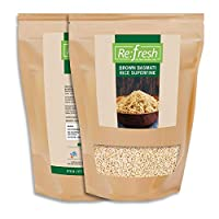 Refresh Organic Brown Basmati Rice Superfine (1 KG) / Brown Basmati Rice