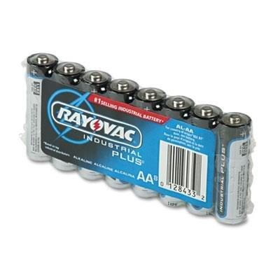 Industrial PLUS Alkaline Batteries, AA, 8/Pack, Sold as 1 Package Industrial Plus Alkaline-batterien