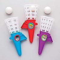 Baker Ross AR869 Juegos de Navidad Pop 'N' Catch: Juguetes Novedosos para Niños, Fiesta, Botín o Bolsa de Premios (Paquete de 6)