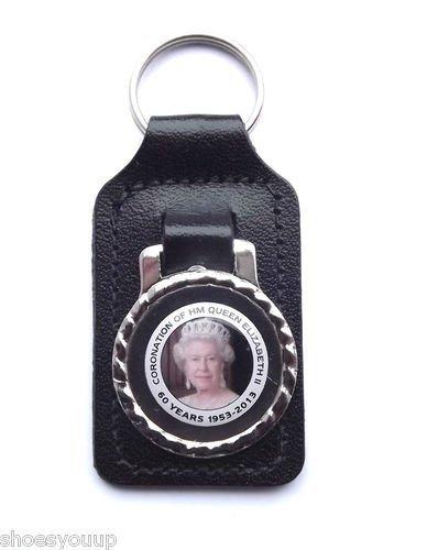 HM Queen Elizabeth II Coronation 1953-2013 Sammler Schlüsselanhänger, Schlüssel, Schlüsselanhänger Queen Elizabeth 1953
