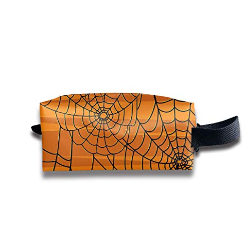 Scary Halloween Spiders Graphics Medicine Bag Zip Travel Portable Storage Pouch for Mens Womens ()