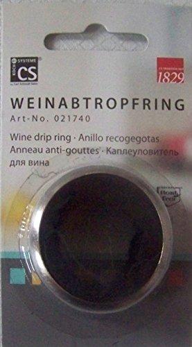 5 Stück Weinabtropfring