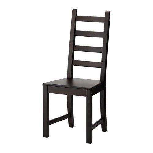 ikea-kaustby-stuhl-braun-schwarz