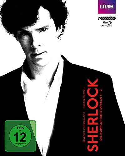 Sherlock - Staffel 1-3 [Blu-ray]