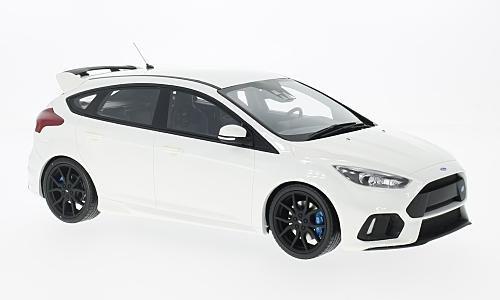 Preisvergleich Produktbild Ford Focus MKIII RS, weiss, 2016, Modellauto, Fertigmodell, Ottomobile 1:18