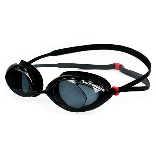 Dr.B Racer - Optische Schwimmbrille mit Sehstärke 100% UV-Schutz #32295 (Schwarz, -2.5)