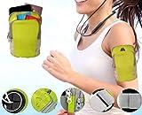 HOMEYKARTZ Mobile Holder Armband for Running Jogging Gym Exercise Waterproof Adjustable Belt Mobile