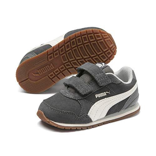 7'4 Runner (PUMJV #Puma Unisex-Kinder St Runner V2 Sd V Inf Sneaker, ((Castlerock-Whisper White-Gray Violet 04), 7 EU)