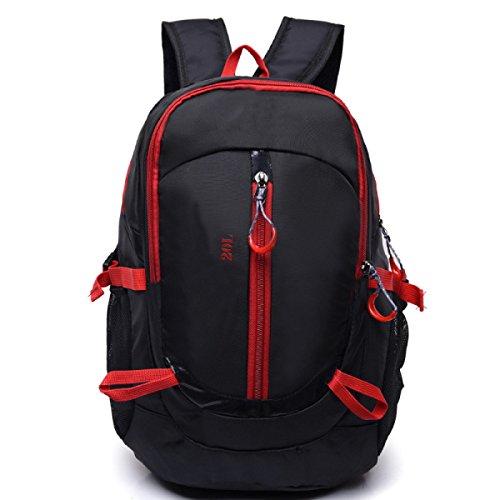 Uomini E Donne Esterni Tracolla Turismo Mountain,Black Red