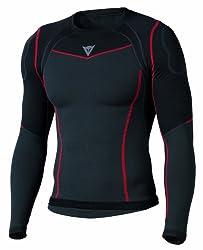 Dainese Seamless Active Shirt Unterwäsche, Schwarzanthrazit, S