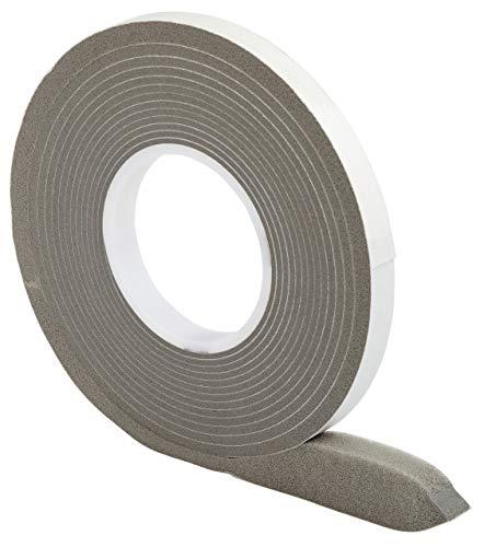 Kompriband 15/6 grau 5,6 m Rolle, Bandbreite 15mm, expandiert von 6 auf 23 mm, Fugendichtband, Komprimierband