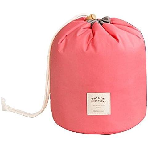 FunYoung Bolso cosmético de las señoras bolsa de cosméticos Kosmetiktaschen a prueba de agua caja del teléfono