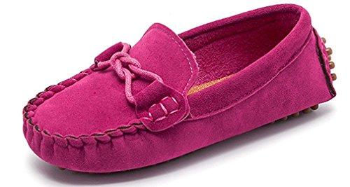 Scarpe per bambini e ragazze mocassini scivolare su pelle scamosciata ragazzi pantofola vestito mocassini scarpe per primavera estivi