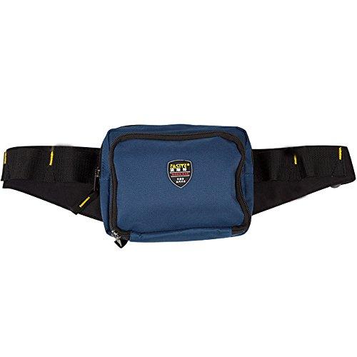 FASITE pt-n023Taille Werkzeugtasche verstellbarem Hüftgurt seitliche Schnalle Schließung Werkzeug Tasche, Blau (Schließung Verstellbare Schnalle)