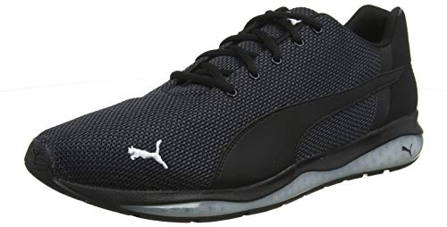 Puma Cell Ultimate Point, Herren Laufschuhe, Schwarz (Puma Black-Puma White), 43 EU (9 UK)