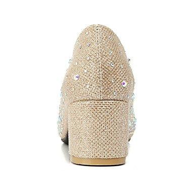 Talloni delle donne Primavera Estate Autunno Inverno Club scarpe personalizzate Materiali da festa di nozze e abito da sera con strass tacco grosso Red