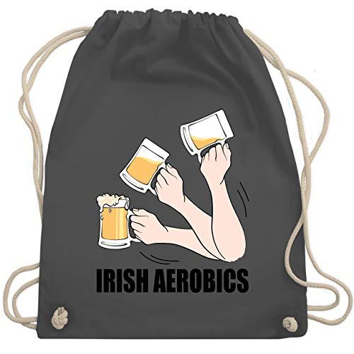 St. Patricks Day - Irish aerobics - Unisize - Dunkelgrau - WM110 - Turnbeutel & Gym Bag