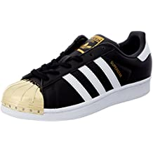 adidas superstar damen schwarz gold