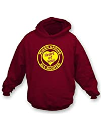 TshirtGrill Wigan Casino - Heart of Soul Hooded Sweatshirt, Color Maroon