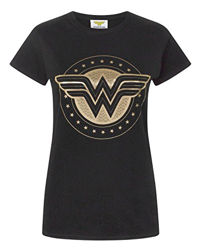 Wonder Woman Foil Shield Women's T-Shirt (XXL)