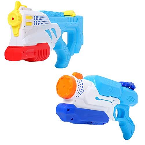 pistole Wasser Blaster 1000CC Hohe Kapazität Wasser Soaker Blaster Squirt Spielzeug Schwimmbad Strand Sand Wasser Kampfspielzeug,G ()