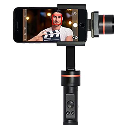 OSMOSE IOT Director Studio Handheld 3-Axis Camera Stabilizer & Selfie Stick - Gimbal For Smartphones Action Cameras & GoPro - 360 Panoramic Shooting - Lightweight Aluminium Alloy from Lionsouth Technology Group Co., LTD.
