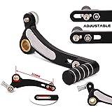 CNC Aluminio Ajustable Plegable Palancas de Cambio Palanca de Cambio Pedal para Kawasaki Z800 2013-